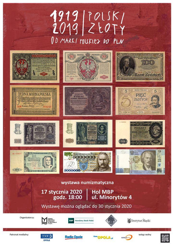 Od marki polskiej do PLN (1919-2019) – wystawa numizmatyczna