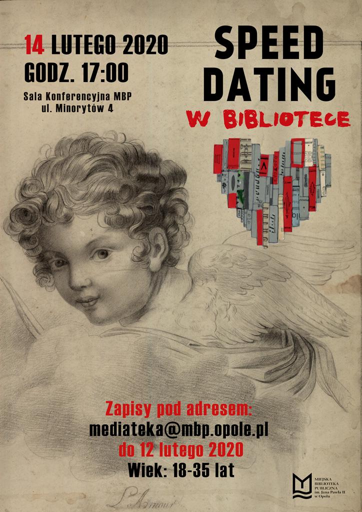 Książki łączą ludzi czyli speed dating w bibliotece