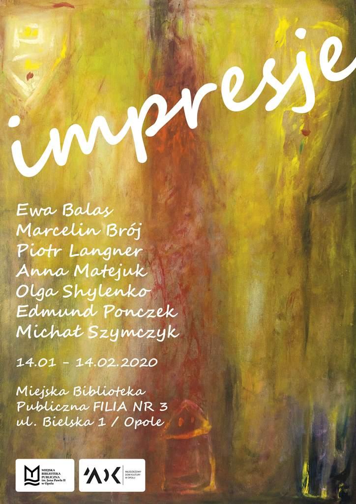 Impresje - wystawa z okazji 65-lecia Młodzieżowego Domu Kultury