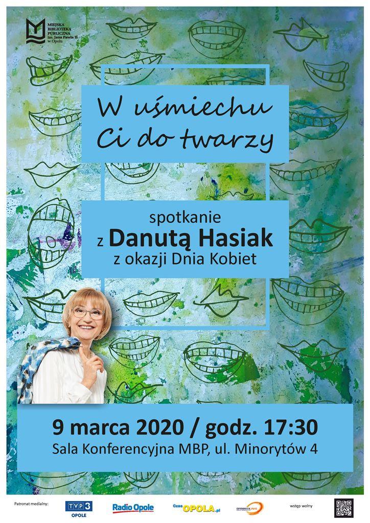 W uśmiechu Ci do twarzy – spotkanie z Danutą Hasiak z okazji Dnia Kobiet