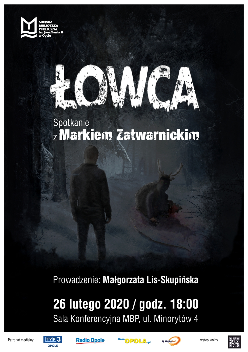 Łowca – spotkanie z Markiem Zatwarnickim