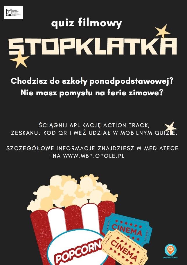 """Quiz filmowy """"Stopklatka"""""""