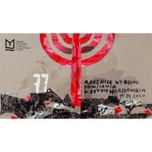 77. rocznica wybuchu powstania w getcie warszawskim