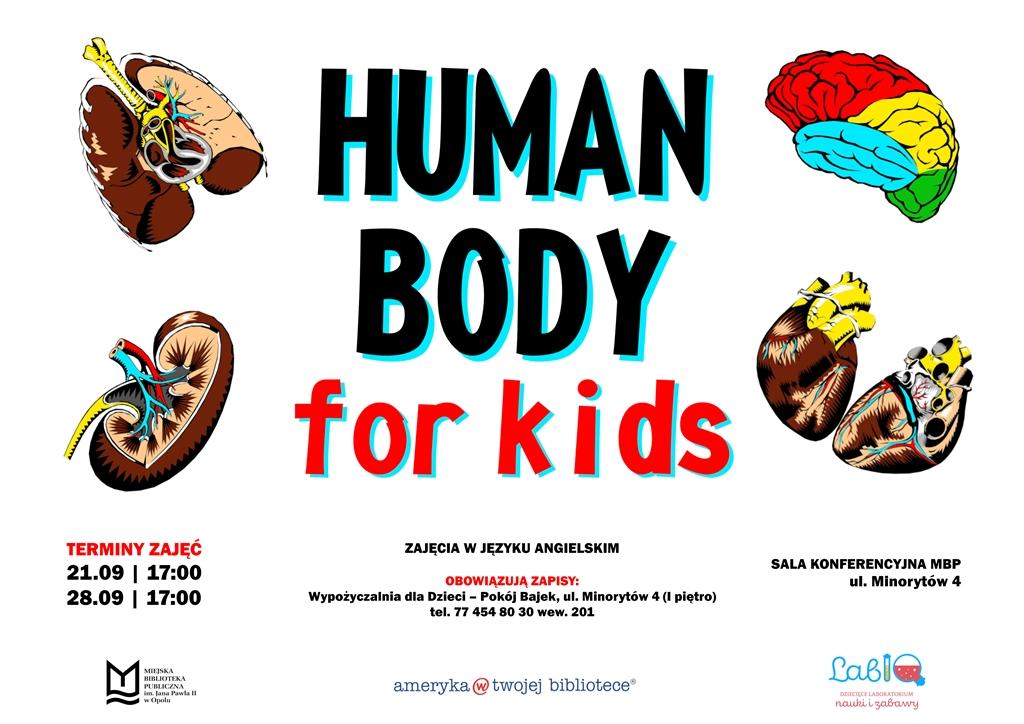 Human body for kids – zajęcia dla dzieci w języku angielskim