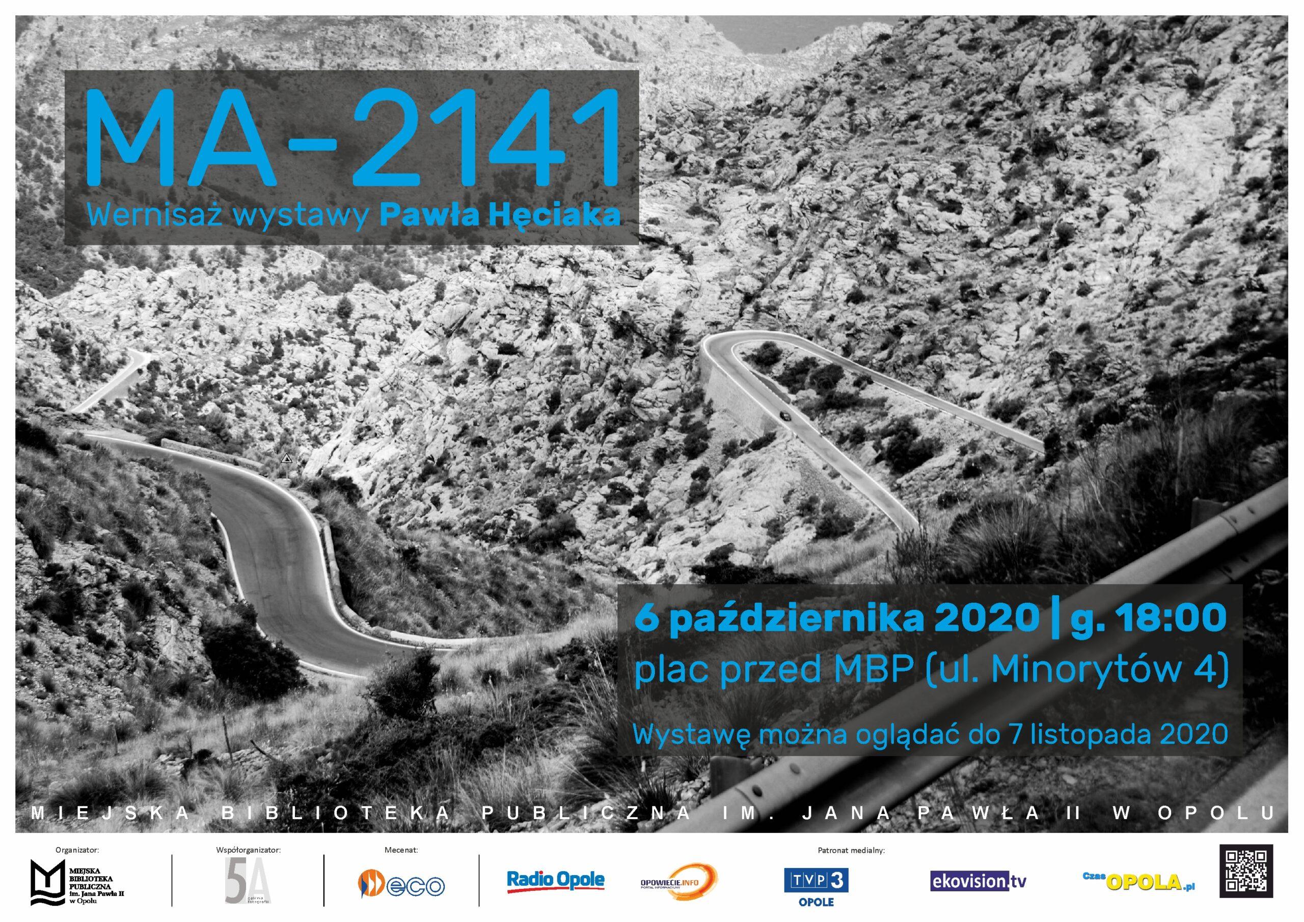 MA-2141 – wernisaż wystawy Pawła Hęciaka