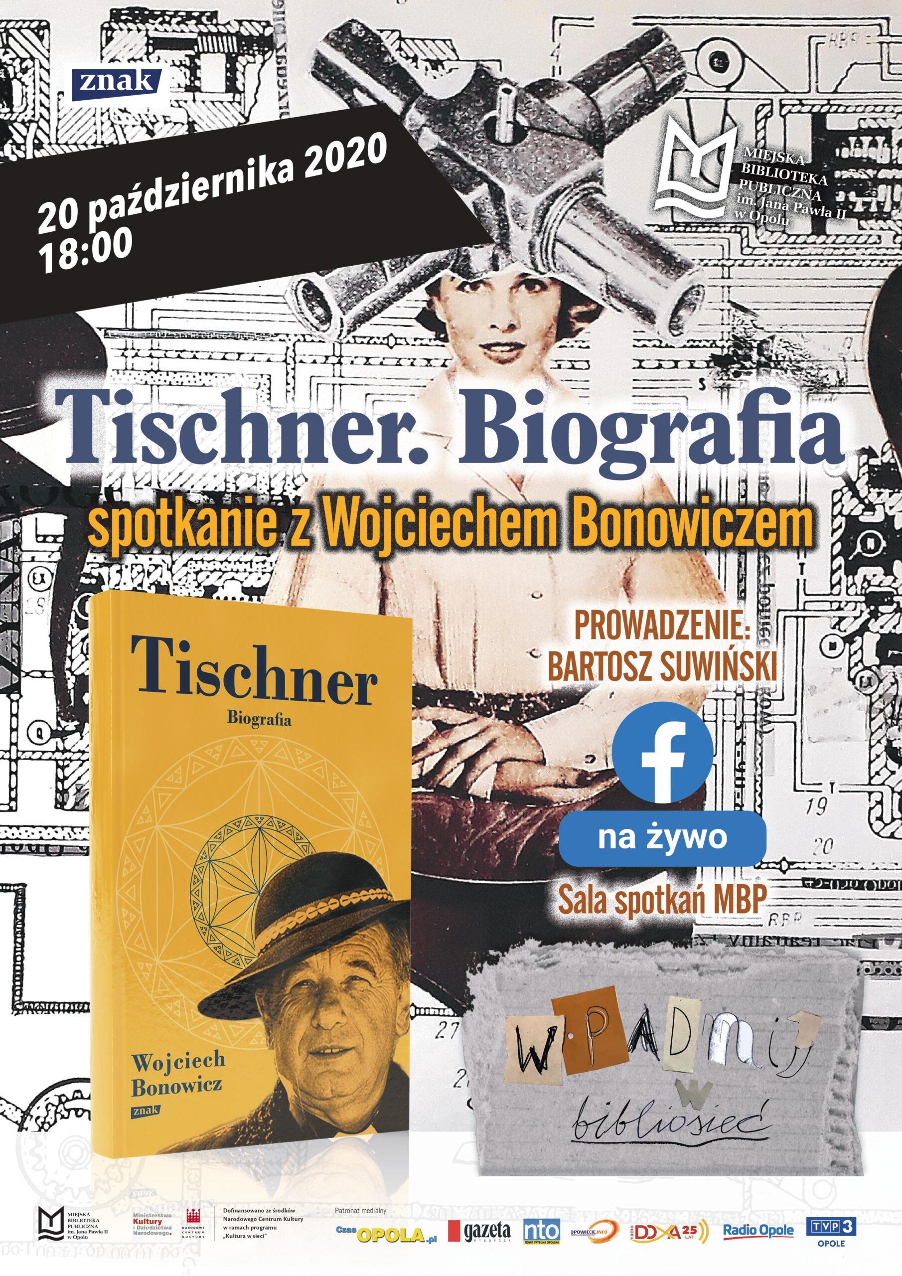 Tischner. Biografia – spotkanie z Wojciechem Bonowiczem