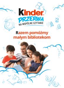 """Akcja Kinder """"PODZIEL SIĘ KSIĄŻKĄ"""""""