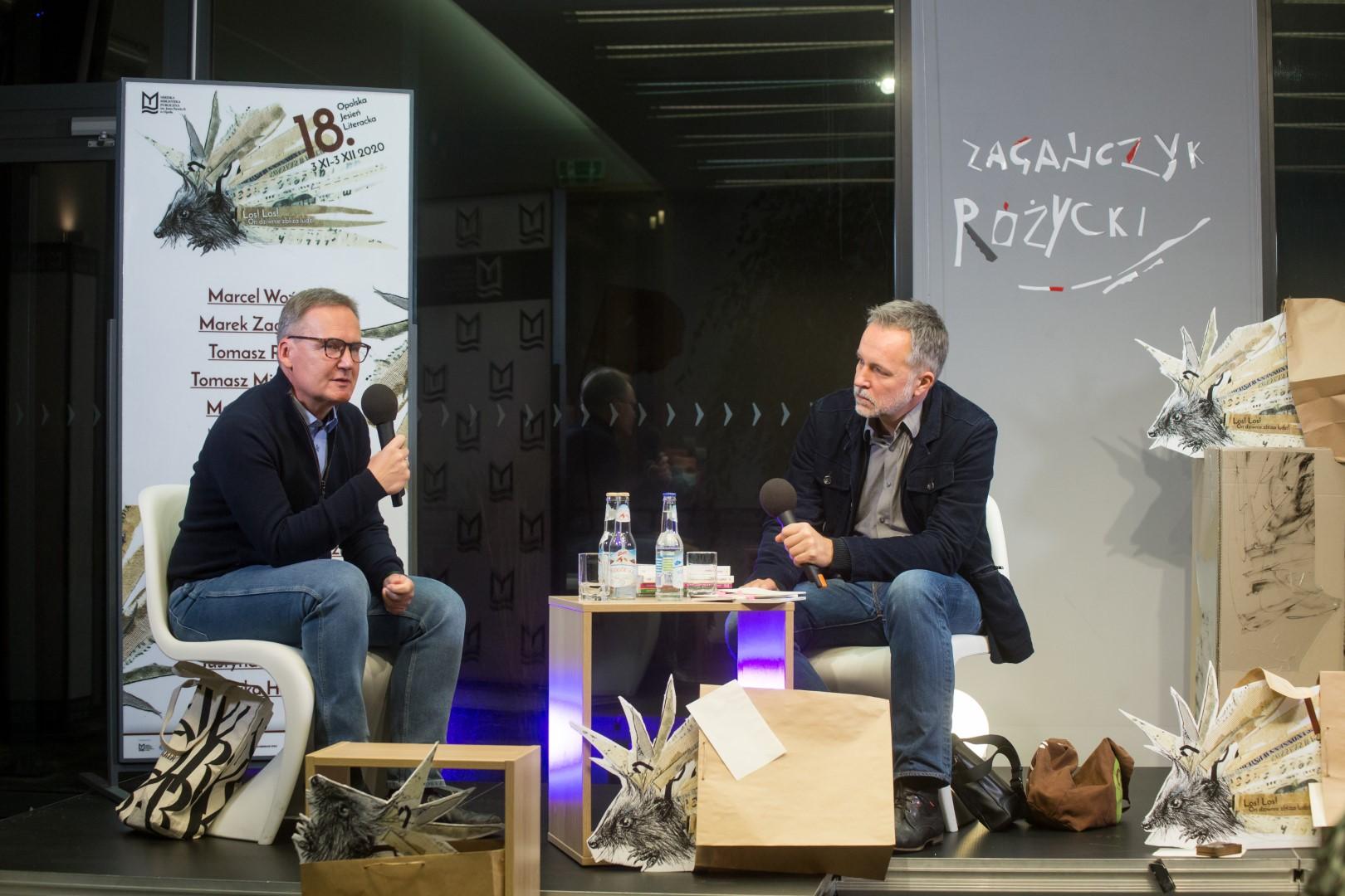 18 OJL / Berlińskie widoki – spotkanie z Markiem Zagańczykiem i Tomaszem Różyckim