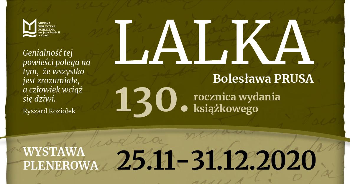 """""""Lalka"""" Bolesława Prusa - wystawa plenerowa"""