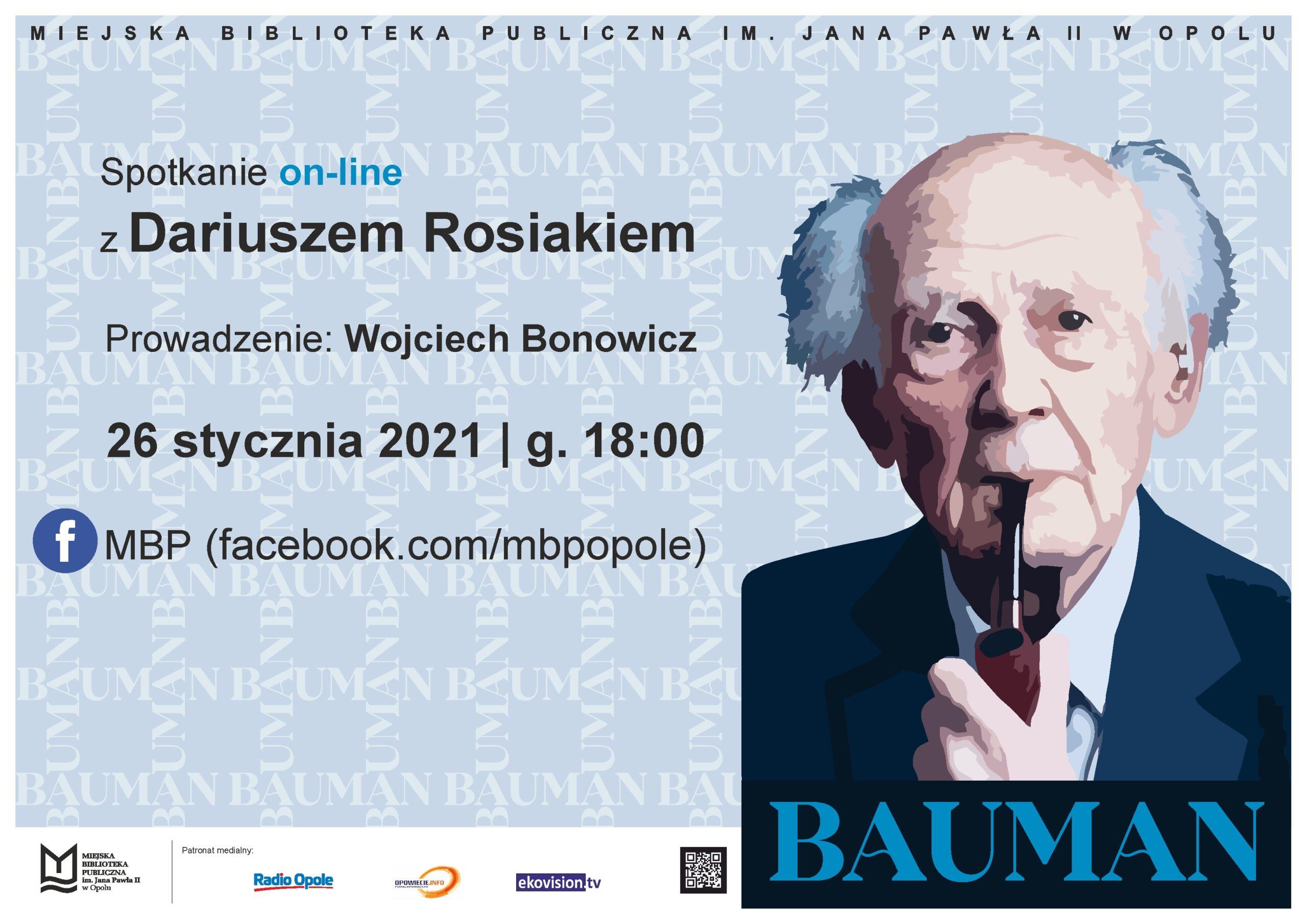 Bauman – spotkanie z Dariuszem Rosiakiem