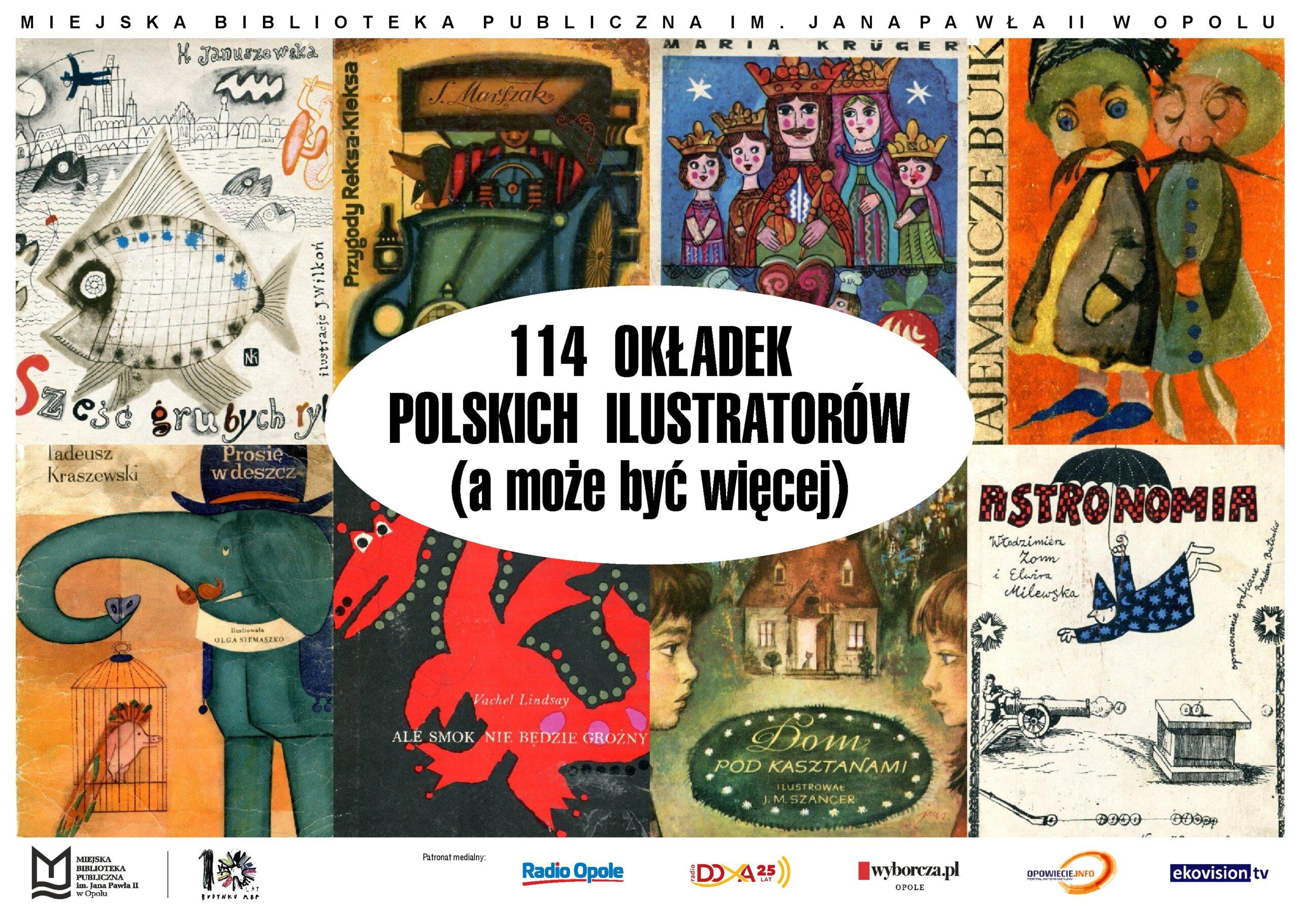 114 okładek polskich ilustratorów (a może być więcej)