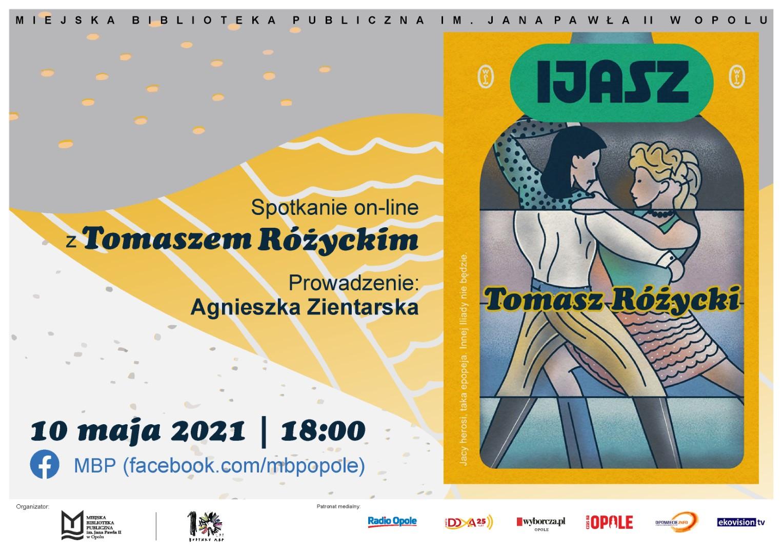 Ijasz – spotkanie online z Tomaszem Różyckim